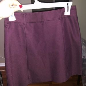Burgundy Dress Skirt
